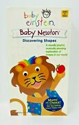 Baby Einstein - Baby Newton - Discovering Shapes Vhs, 2002 New And Sealed