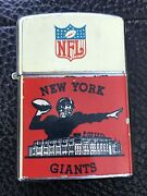 Vintage 1963 New York Giants Lighter Beautiful Condition Very Rare