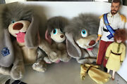 Lot Applause Anastasia Puppy Dog 1997 Pooka Doll Puppet A
