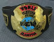 Bps World Television Ecw Heavyweight Wrestling Championship Title Belts