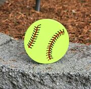 Fastpitch Ball Custom Hitch Cover
