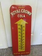 Vintage Advertising Royal Crown Cola Thermometer Soda Fountain Store A-562