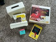 Singer Little Touch And Sew 1966 Child Size Sewing Machine W Case And Manual