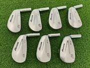 Mizuno Golf Mp-32 Grain Flow Forged Iron Set 4-pw Heads Only Right Handed Used
