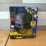 Batman Dc Voice Changing Mask 15+ Phrases Bat-tech Spin Master Brand New