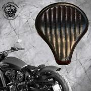 Bobber Seat Indian Scout Since`17 With Mounting Kit And Springs Long Black V2