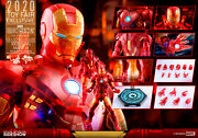 Hot Toys Iron Man Mark Iv Holographic Vers. 2020 Toy Fair Ex 16 Figure Doublbox