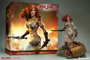Red Sonja She-devil With A Sword Super Low 1 /3000 Statue Sideshow Collectibles