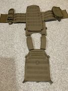 Lbt 6094a Plate Carrier, Coyote Brown With Extras