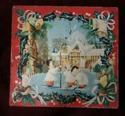 Huntley And Palmers 1961 Vintage Biscuit Tin England Vintage Christmas Choirboys