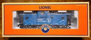 Lionel 6-17672 Great Northern Extended Vision Caboose W/smoke Nib