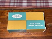 Vintage Plastic Fuller Brush Company Table Tidy Crumb Sweeper Made In Usa 1960s