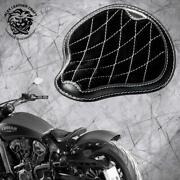 Bobber Seat Indian Scout Since`17 With Mounting Kit And Springs Gus Blackandwhite V3