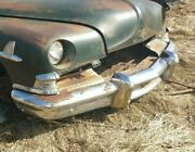 Bumper Front With Guards Lincoln Cosmopolitan Ford 1949-52 49 1950 1951