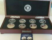 Limited Edition Silver Plated World War 2 Bomber Collection.complete Proof Set.