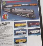 Lionel 8002 Farr Set 2 - Union Pacific Diecast 2-8-4 Engine And Tender