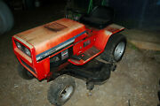Vintage Mtd Lawn Tractor Mower Briggs And Stratton 18 Hp Engine Custom Factory