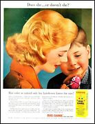 1957 Young Mother Son Easter Egg Miss Clairol Vintage Photo Print Ad Adl11