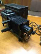 Slide Projector Balopticon Bausch And Lomb Antique Free/ship