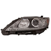 Lx2518139c New Replacement Head Lamp Lens/housing Driver Side