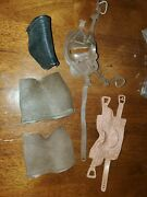 Vintage Marx - Johnny West Accessories - Lot Of 3 Saddles And 2 Blankets