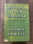 England Your England By George Orwell First Edition 1953 Hardcover With D/j