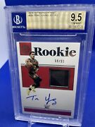Trae Young 2018-19 Panini Encased /99 Auto Patch Bgs 9.5 Sp Rookie Rc Rpa Rare