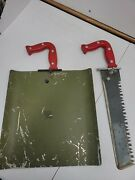 Us Army Pilot Aircrew Cold Climate Survival Kit Type A2 Saw Knife Shovel