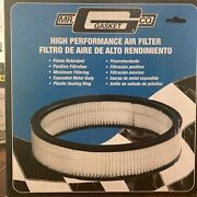 """Mr. Gasket Company High-performance Air Filter Number 1487a. 9 X 2"""" High"""