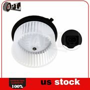 A/c Heater Blower Motor W/ Fan Cage For Silverado Chevy Gmc Cadillac Hummer H2