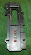 1967 1968 Mustang Gt Cs Gta Cougar Xr7 Orig A/t Console Shifter Indicator Plate