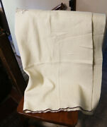 Wwii Us Army White Wool Medical Blanket 1944 No. 3
