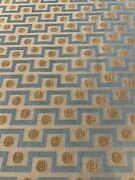 3.6 Yds Colefax And Fowler Manuel Canovas Opio Taupe Upholster Fabric-art Deco