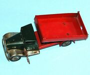 Vintage Wind Up Triang Minic Toys England 5 3/8 Tipping Lorry Truck Tin Plate