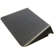 Rubber Threshold Door Step Ramp - 4 Inch Rise Doorway Mobility Wheelchair Access