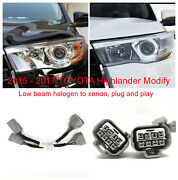 Adapter Wire Harness For Toyota Highlander Headlight Modify From Halogen To Led