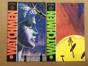 Watchmen 1-12 Complete 1986 Dc Series 1st Prints Alan Moore Dave Gibbons