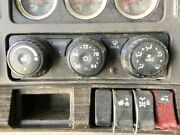 2017 Kenworth T680 Heater And Ac Temp Control 3 Knobs 5 Buttons