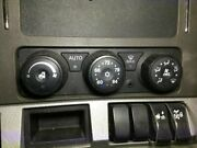 2014 Kenworth T680 Heater And Ac Temp Control W/ 3 Knobs And 3 Buttons
