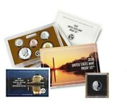 2020 Us Mint Clad Proof Set W/ 2020 W Proof Nickel In Guardhouse Holder