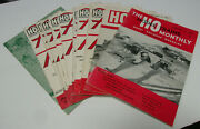 Vintage The Ho Scale Model Trains Monthly Railroad Magazine / Complete Year 1951