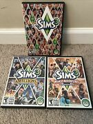 The Sims 3 Game Pc Complete 2009 World Adventures Ambitions Expansion Packs