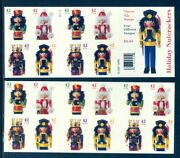 Us 4363b Christmas Nutcracker Complete Booklet 42c /20 Mint Nh, Free Shipping