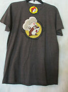 Buc- Eesand039s Let The Good Times Boil Charcoal Heather Size M Crawfish T Shirt