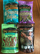Bbqrs Delight 1 Lb Bbq Pellets Barbecue Smoking Wood Chips Lot Surgary Maple