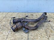 Left Right Catalytic Converter Set Bentley Continental Flying Spur 06-12 Oem