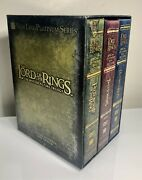 ⭕️ Lord Of The Rings The Motion Picture Trilogy Extended Dvd 12-disc Set 2004