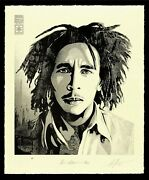 Obey Bob Marley 40th 2 Confrontation - Shepard Fairey Signed And Numbered