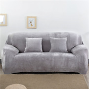 Thicken Plush Elastic Sofa Covers For Living Room Sectional Corner Couch Covers