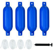 27 Boat Fenders Hand Inflatable Marine Bumper Shield Protection Pack Of 4 Blue